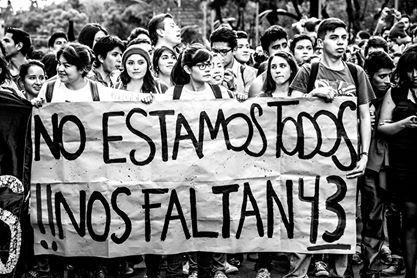 Resultado de imagen para nos faltan 43 ayotzinapa