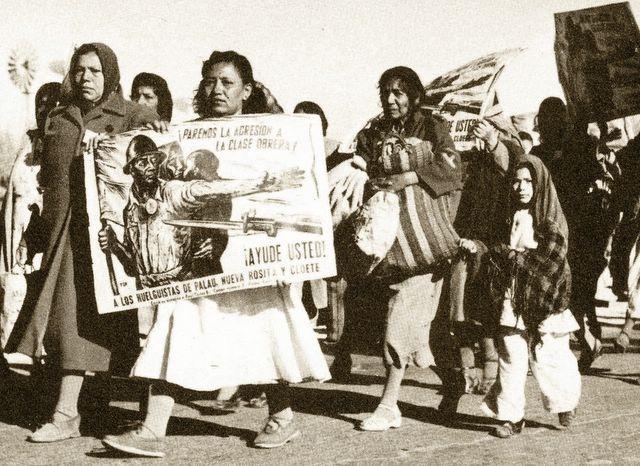 Octubre de 1950: huelga de los mineros de Nueva Rosita