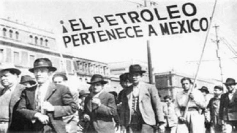 La expropiación petrolera de 1938