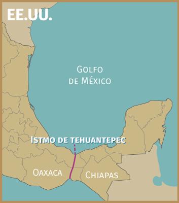 Resultado de imagen para Istmo de Tehuantepec