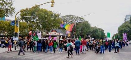 #8M: masiva movilización de mujeres en San Rafael