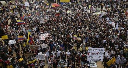 Por qué estalló una rebelión contra el gobierno en Colombia