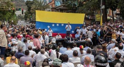 Guaidó mostró pocas fuerzas en las calles en su llamado a movilización