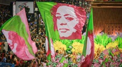 Millones de personas repudiaron a Bolsonaro en el carnaval