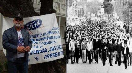 """Carlos Propato, sobreviviente de Ford: """"Por nuestros 30.000, hay que salir a las calles"""""""