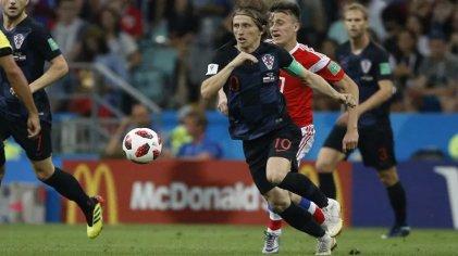 Luka Modric, del caos de la guerra al fútbol en su máxima expresión