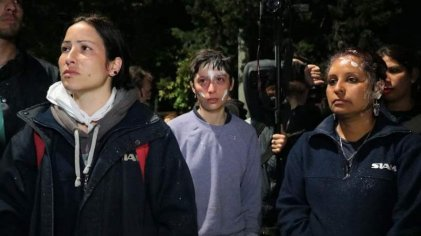 #25N: los despidos y la represión también son violencia contra las mujeres