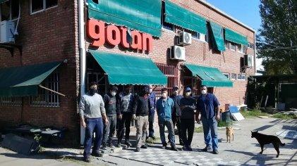 Burzaco: en la metalúrgica Gotan luchan contra el cierre y por el control de la fábrica