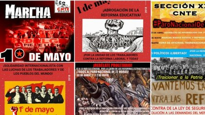 Con paro de 72 horas inicia jornada de lucha de la CNTE