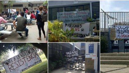 México: ante desapariciones forzadas, paro histórico en la Universidad de Guadalajara