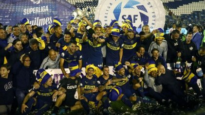 Boca empató con Gimnasia y se consagró bicampeón de la Superliga