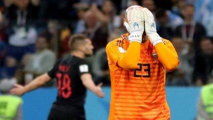 Argentina sucumbió ante Croacia y quedó al borde de la eliminación