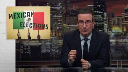 ¿Qué expresa la cobertura de John Oliver de las elecciones en México?