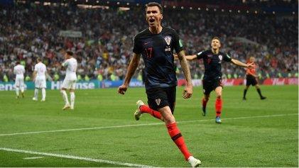 Croacia aguantó más que Inglaterra y juega la final contra Francia