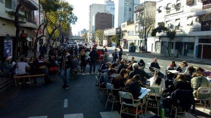Sociales UBA: corte y clases públicas en avenida San Juan