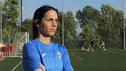 Alba Palacios: la primera futbolista transgénero en el fútbol español debutó marcando un gol