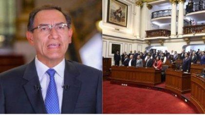 Vizcarra logra voto de confianza del Congreso peruano, que evita su disolución