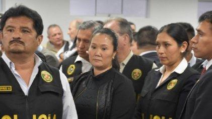 Encarcelan a Keiko Fujimori bajo la acusación de presidir una organización criminal