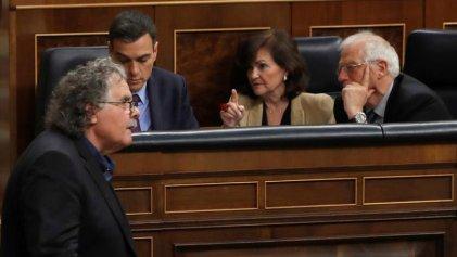"""Estado Español: el PSOE se suma a la """"vía Vox"""" en Catalunya"""