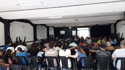 Importante apoyo a miembros del SUTNA en la Seccional San Fernando