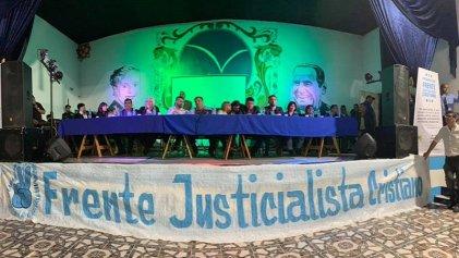 Los celestes del Frente Justicialista Cristiano apoyan la fórmula Fernández-Fernández