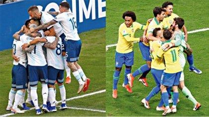 La Selección Argentina, lista para la prueba de fuego ante Brasil