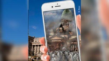 Exclusivo: FaceApp anticipó el futuro de Argentina con el FMI