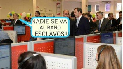 """Call centers: sin derecho a ir al baño en Cablevisión, la campaña de """"la Corpo"""""""