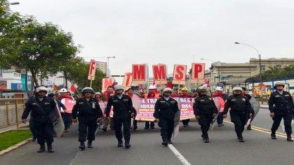 Huelga minera y criminalización de la protesta social en Perú