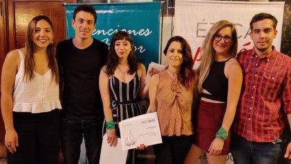 Leila Grayani, premiada por TEA y DeporTEA por sus entrevistas en La Izquierda Diario