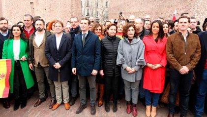 La derecha española pide ilegalizar a los partidos independentistas