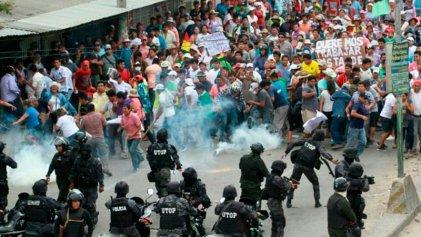 Delegación argentina denuncia la grave situación que vive el pueblo de Bolivia