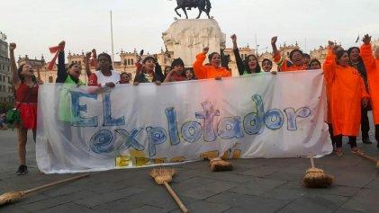 """""""El explotador eres tú"""": trabajadoras peruanas contra la explotación y la violencia patriarcal"""