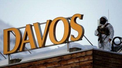 """Foro de Davos: los CEO de las empresas más contaminantes quieren poner """"verde"""" su agenda"""