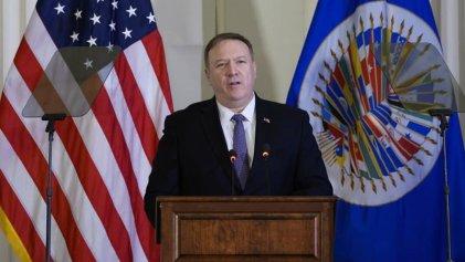 """Guiño del Imperio: Pompeo consideró """"alentadoras"""" las acciones de Argentina contra Hezbollah"""