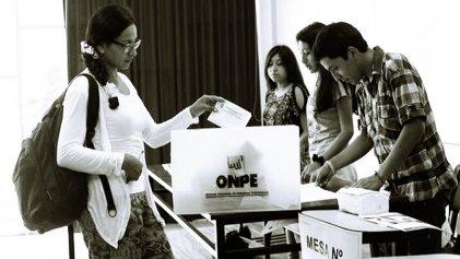 Gobierno peruano y partidos del régimen contra el voto blanco y viciado