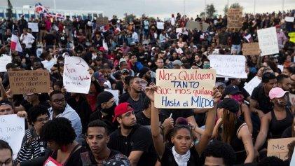 Protestas en República Dominicana tras fallido intento de fraude electoral
