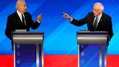 """Internas demócratas: de la """"revolución Sanders"""" a la """"marea Biden"""""""