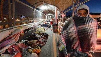 En la frontera norte de México, migrantes expuestos al contagio de Covid-19