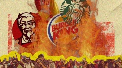 Trabajadores de comidas rápidas movilizan al Ministerio de Trabajo en La Plata