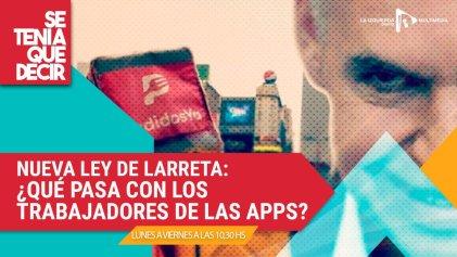 Ley de apps: uberización del trabajo y la juventud que se rebela