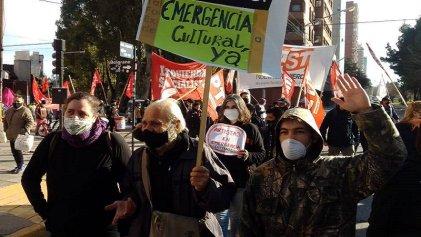 Neuquén: artistas en emergencia unieron su reclamo con ceramistas y movimientos sociales