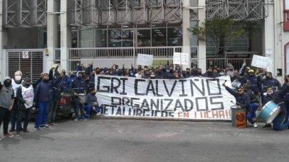 Trabajadores de Gri Calviño toman la planta de Florencio Varela ante lock out patronal