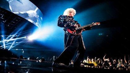 Para salvar al rock and roll, Brian May diseña un sistema de flujo de aire