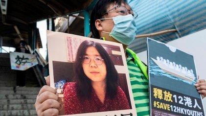 Condenan a periodista china que cubrió el inicio de la pandemia en Wuhan