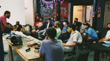 Relanzamiento de la escuela de oficios de La RED en La Plata