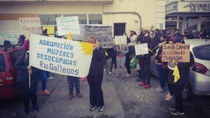 Río Gallegos: mujeres desocupadas reclamaron por trabajo digno