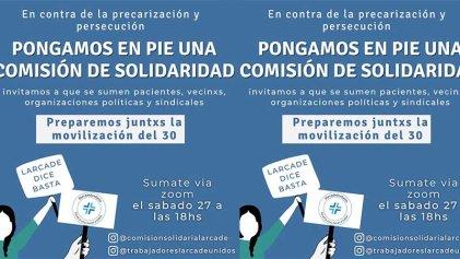 Hospital Larcade: por una comisión solidaria que fortalezca la lucha