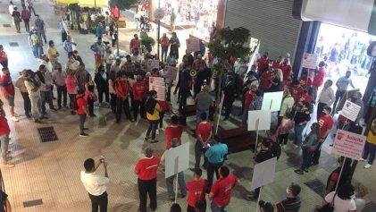 Tras meses de pasividad, el Seoc se movilizó por el horario corrido en Tucumán