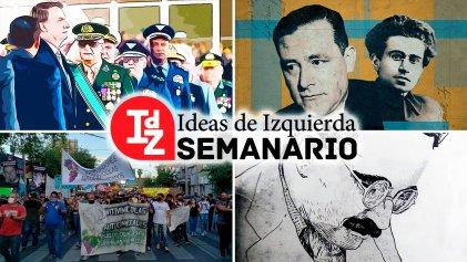 """En IdZ: crisis política en Brasil; el """"momento populista"""" de Biden; Gramsci y Carl Schmitt, y más"""